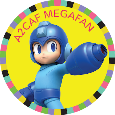 A2CAF 2018 Megafan badge image