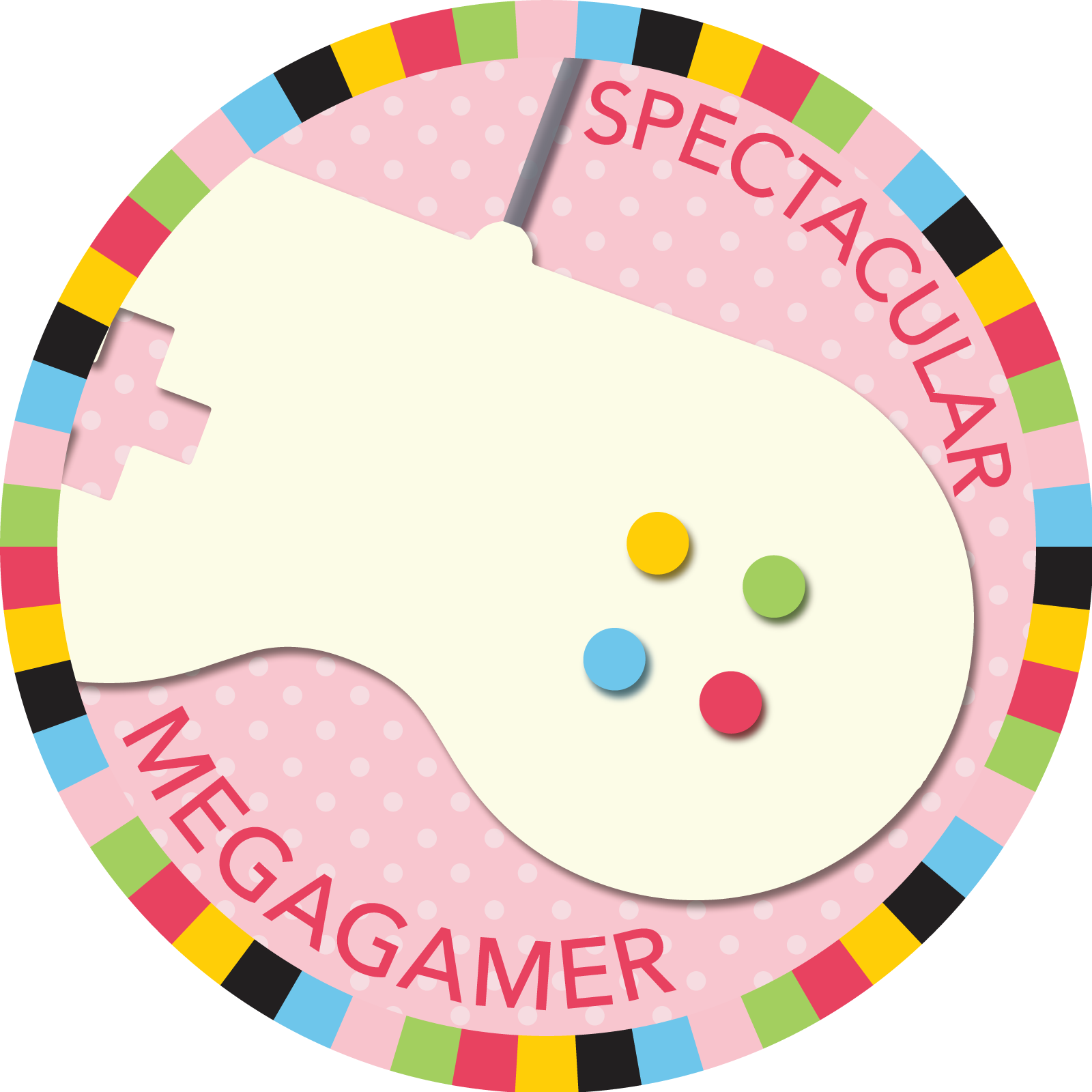 Summer Game Spectacular Mega-Gamer badge image