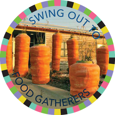 Swing Out to Food Gatherers badge image