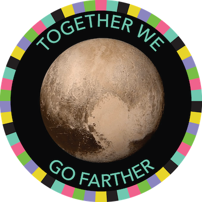 Together We Go Farther badge image
