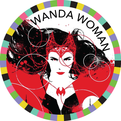 Wanda Woman badge image