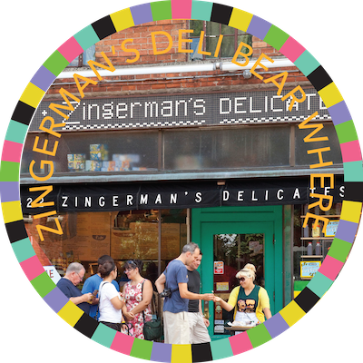 Zingermans Deli Bear Where badge image