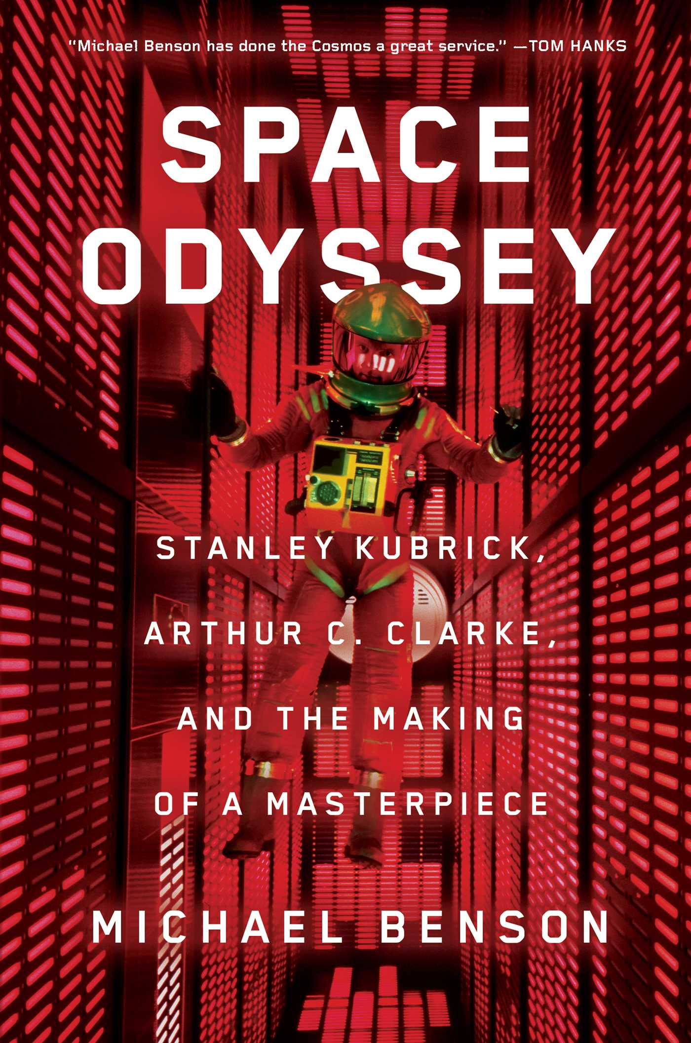 Promotional image for Martin Bandyke Under Covers for June 2018: Martin Bandyke interviews Michael Benson, author of Space Odyssey: Stanley Kubrick, Arthur C. Clarke, and the Making of a Masterpiece. podcast