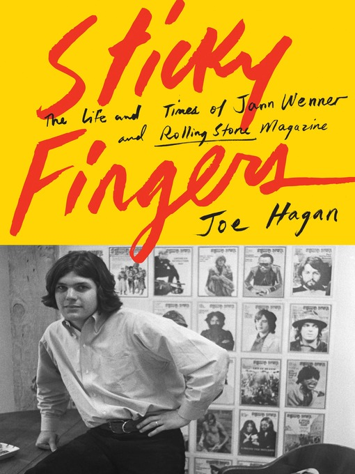 Promotional image for Martin Bandyke Under Covers: Martin Bandyke interviews Joe Hagan, author of Sticky Fingers: The Life and Times of Jann Wenner and Rolling Stone Magazine podcast